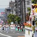 福山ばら祭のローズパレード♪