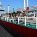 Photos: 火気厳禁・安全第一・引火性危険物積載船2
