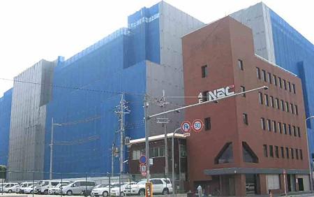 京都駅南開発計画 平成20年秋オープン目指し建設中