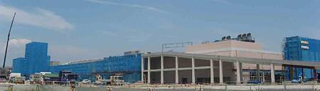 プレハウォーク 平成20年11月1日 オープン予定で増築中-200720-1
