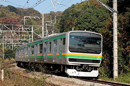 E231系湘南新宿ライン(横須賀線)