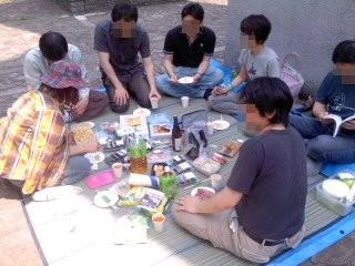 直会(5月31日、神奈川縣護國神社)