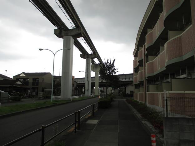 甲州道中 万願寺一里塚(日野市)