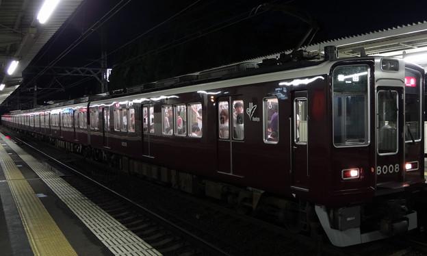 阪急電鉄8000系 神戸線特急