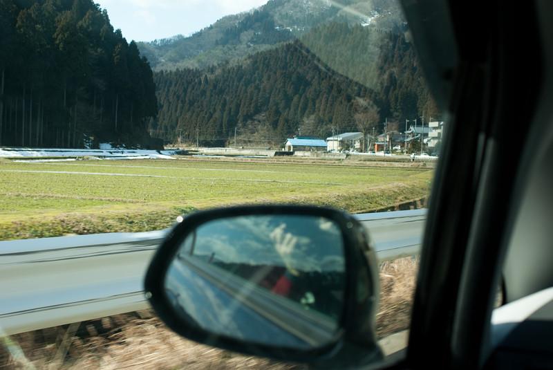 山間クルージング