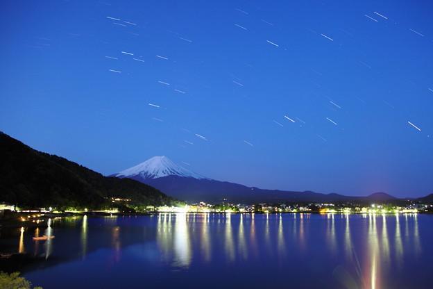 星降る富士山 夜明け前(1)