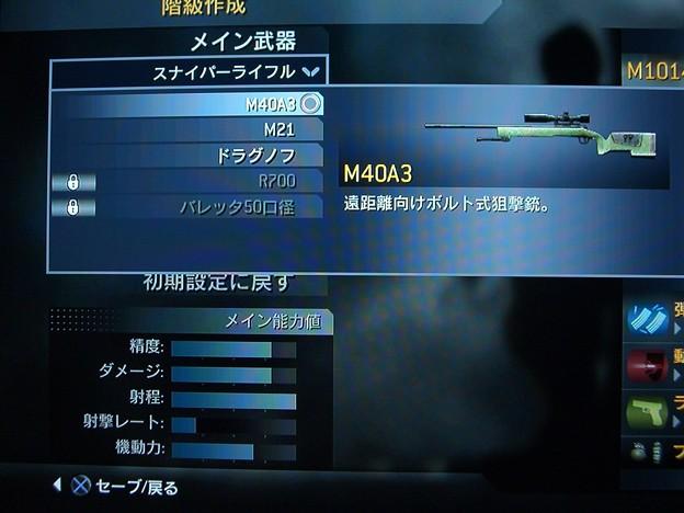 スナイパーライフル-M40A3