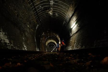 2トンネル探検開始