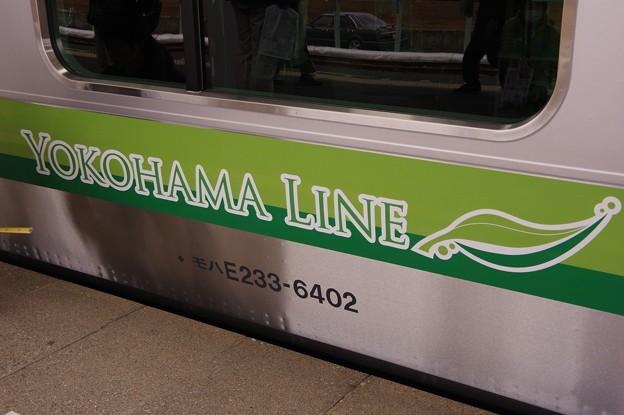 横浜線を象徴される2色の緑のライン・・E233系6000番台 20140202