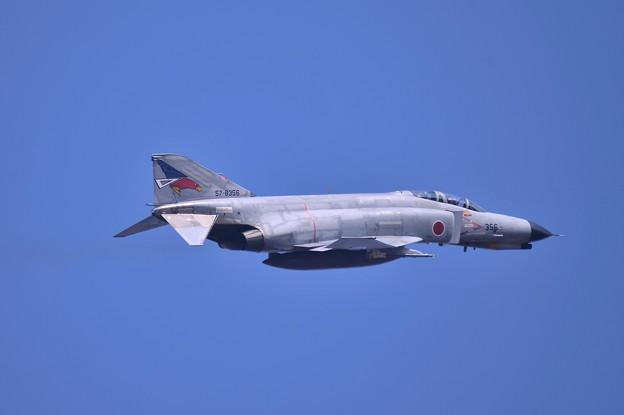 朝の百里基地 第302飛行隊F-4EJ改ファントム テイクオフ?・・20140221