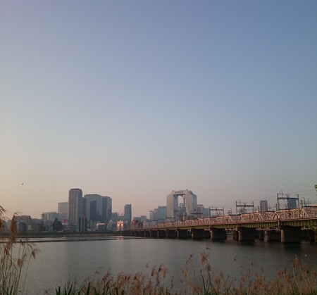 十三大橋と梅田