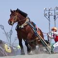 写真: サダノワークスと西謙一騎手