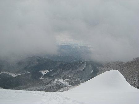 頂上からの展望