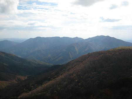 立烏帽子山山頂からの景色