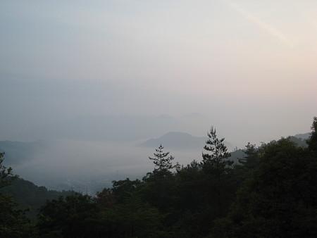 呉娑々宇山山頂近くからの景色
