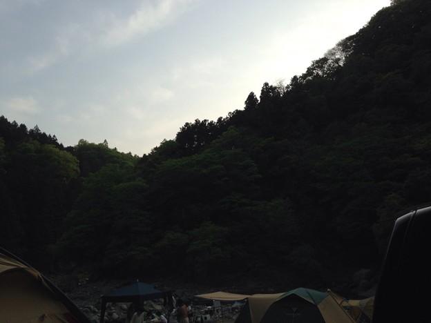 キャンプなう