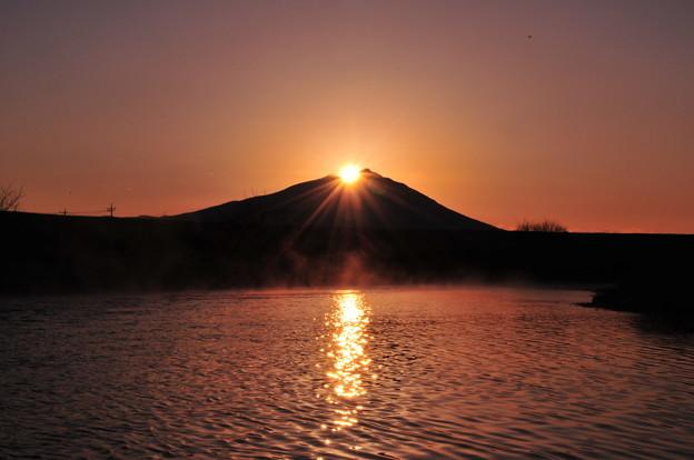 小貝川からのダイヤモンド筑波山 181